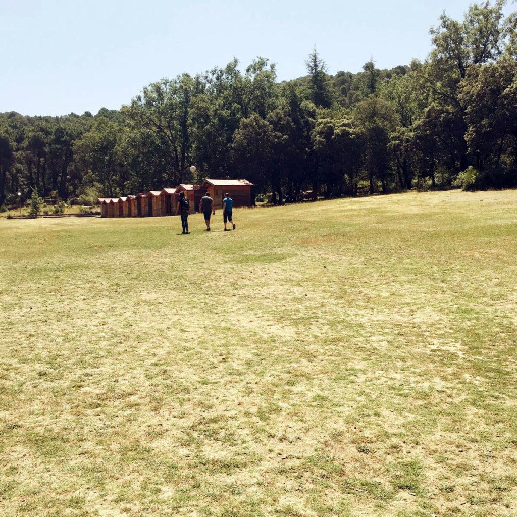 casas campamento verano