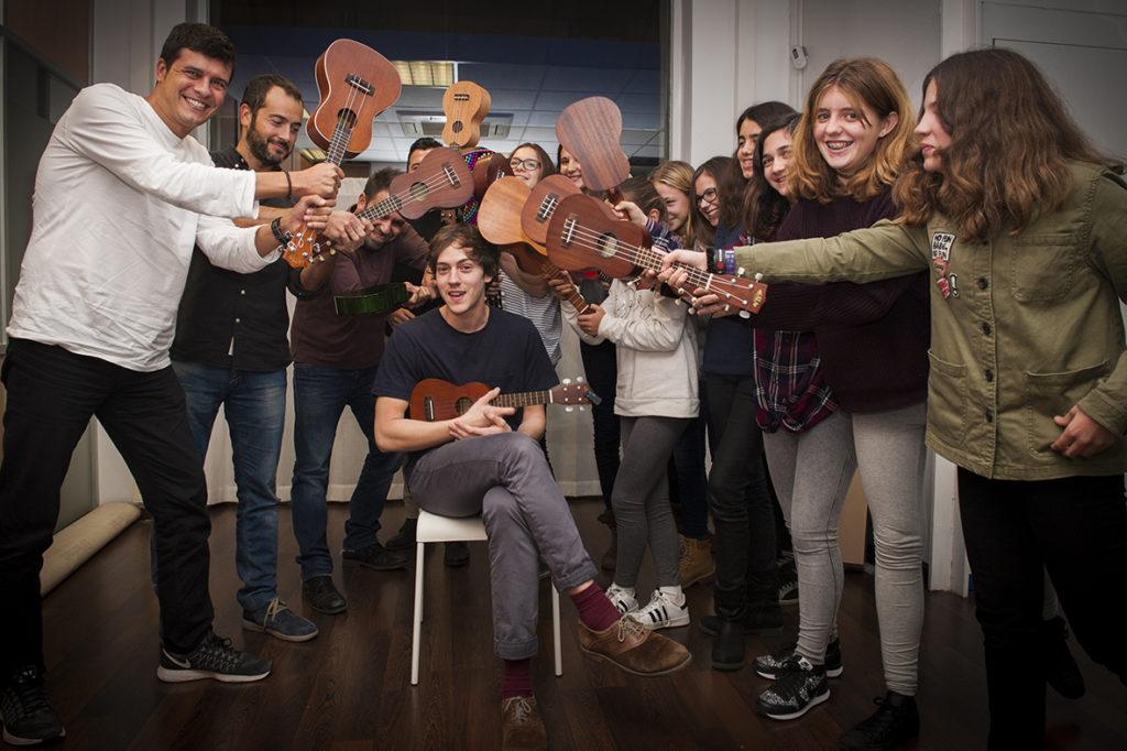 Clases de ukelele en Granada