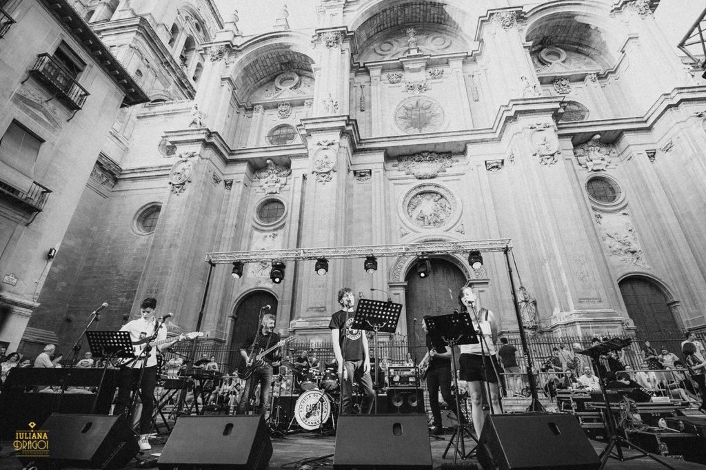 Escuela de música en Granada, concierto, Pasiegas