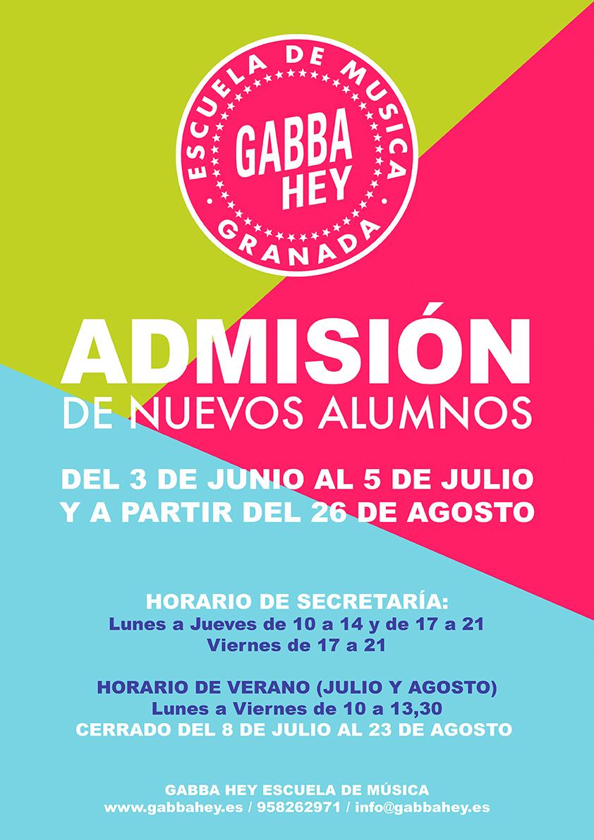 Escuela de música en Granada