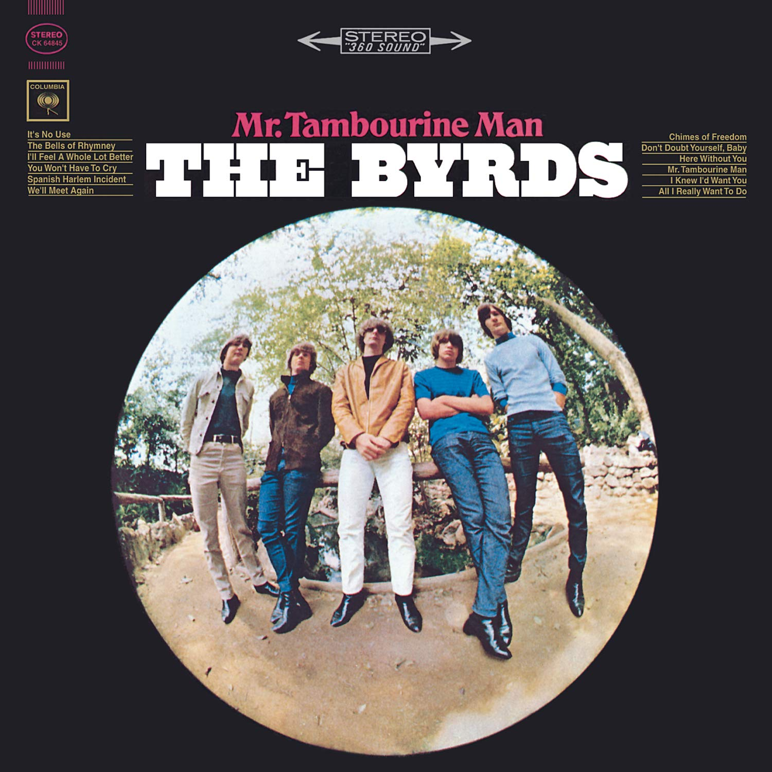 The Byrds donde Mr Tambourine